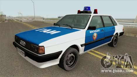 Audi 80 (Police) 1988 for GTA San Andreas