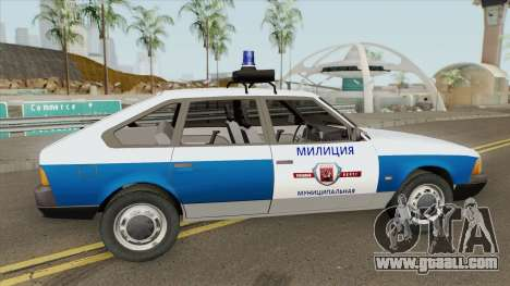 21418 AZLK Moskvich (Municipal Police) for GTA San Andreas