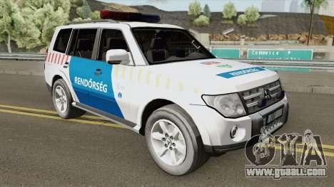 Mitsubishi Pajero (Magyar Rendorseg) for GTA San Andreas