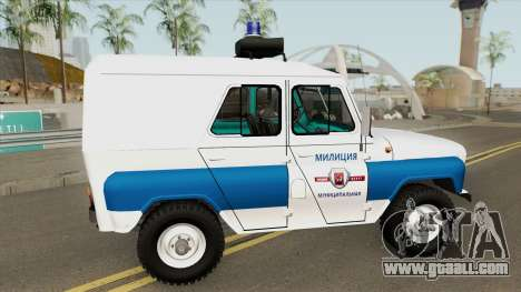 UAZ 3151 (Municipal Police) for GTA San Andreas