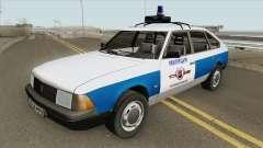 21418 AZLK Moskvich (Municipal Police) for GTA San Andreas