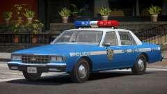 Chevrolet Impala NYC Police 1984