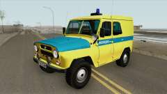 UAZ 469 (Police Union) for GTA San Andreas