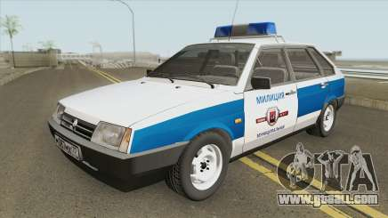 2109 (Municipal Police) for GTA San Andreas