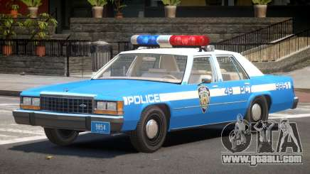 Ford LTD Crown Victoria NYC Police 1986 for GTA 4