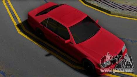 Mercedes-Benz S600 w140 Brabus for GTA San Andreas