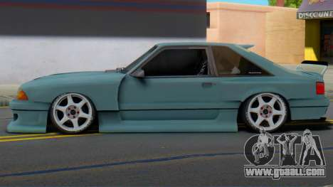 Ford Foxbody Wickedz Edition for GTA San Andreas