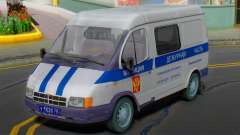 GAZ 2217 Sobol Police 2003 for GTA San Andreas