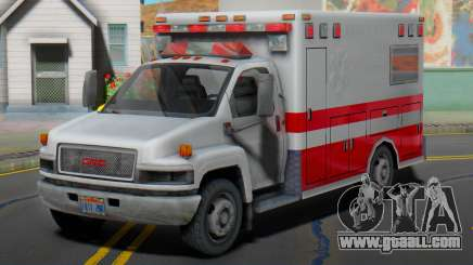 GMC C5500 Topkick 2008 Ambulance for GTA San Andreas