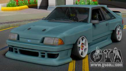 Ford Foxbody Wickedz Edition for GTA San Andreas