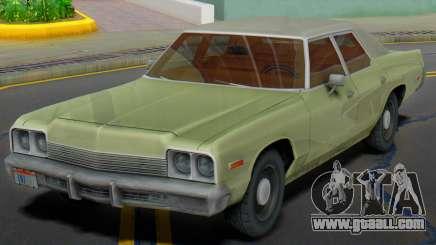 Dodge Monaco 1974 (Civil) for GTA San Andreas