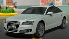 Audi A8 2013 Administration of the region
