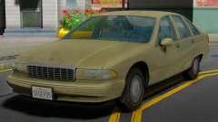 Chevrolet Caprice 1991 MY