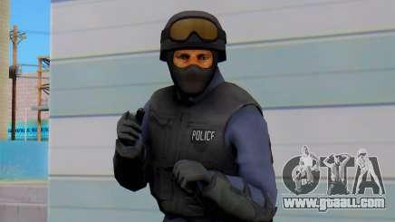 Nuevos Policias from GTA 5 (swat) for GTA San Andreas