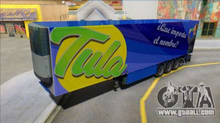 Tula Drink Trailer for GTA San Andreas