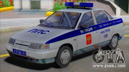 Vaz 2110 PPP Police for GTA San Andreas