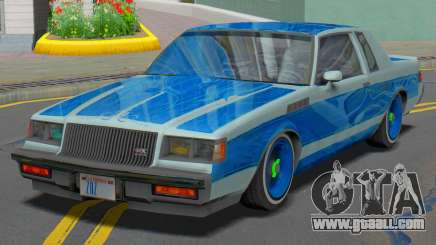 Buick GNX 1987 Lowrider for GTA San Andreas