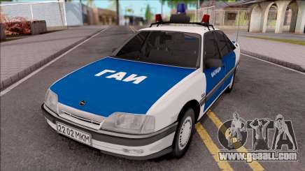 1989 Opel Omega A GAI for GTA San Andreas
