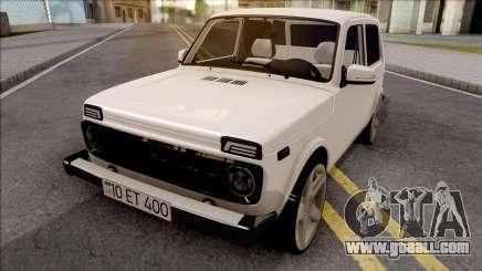 VAZ Niva Azerbaijan Sheki for GTA San Andreas