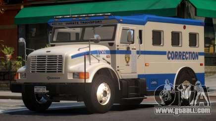 Navistar Intenational 4700 Prison Van for GTA 4