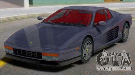 Ferrari Testarossa 1984 (IVF) for GTA San Andreas