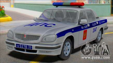 Gaz Volga 31105 Police DPS 2006 for GTA San Andreas