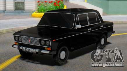 Vaz 2106 Black Edition for GTA San Andreas