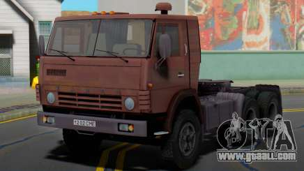 KAMAZ 5410 truck tractor for GTA San Andreas