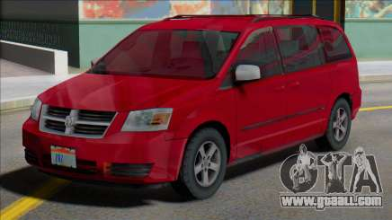 Dodge Grand Caravan 2009 MY for GTA San Andreas