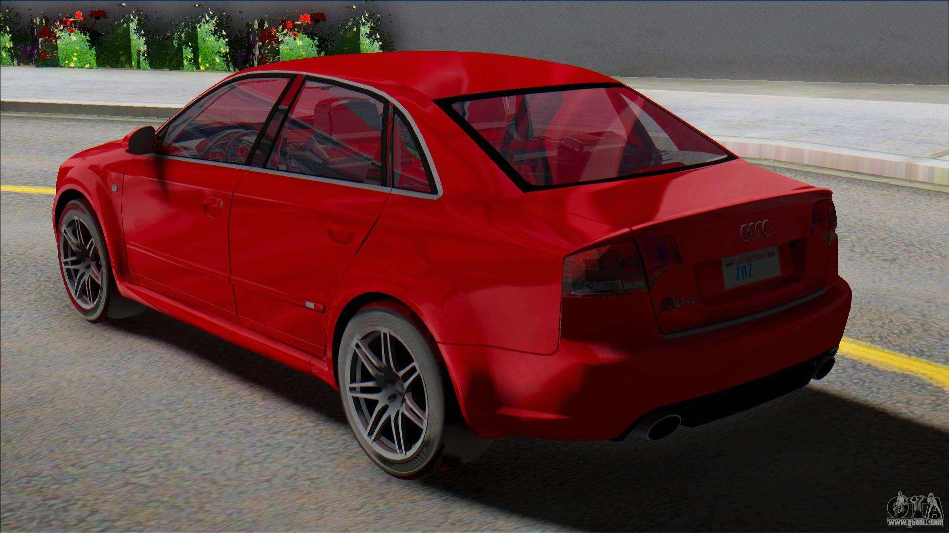 2006 Audi RS4 B7 for GTA San Andreas