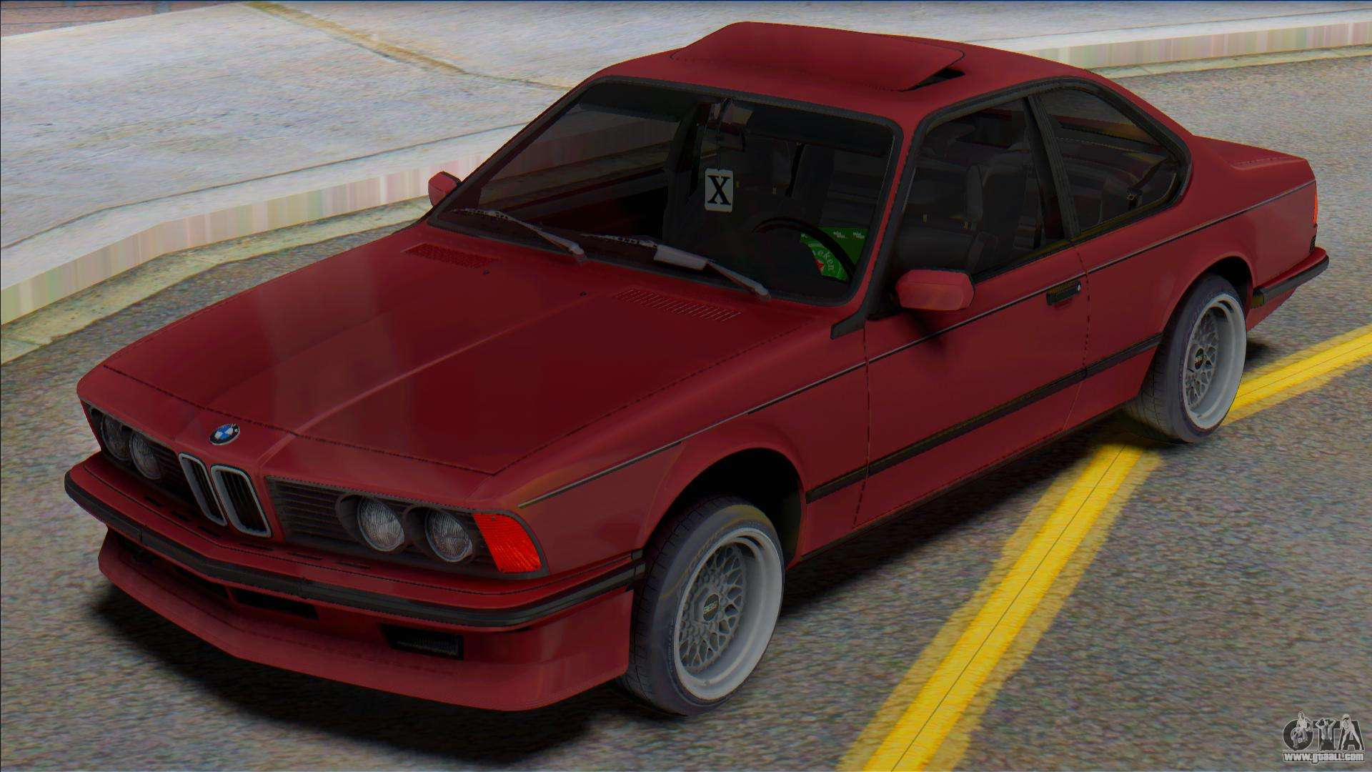 Bmw E24 For Gta San Andreas