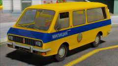 RAF 2203 Soviet Police for GTA San Andreas