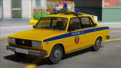 Vaz-2105 Soviet Police 1982 for GTA San Andreas