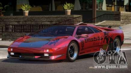 Lamborghini Diablo BS for GTA 4