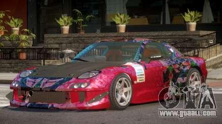Mazda RX7 CPS PJ2 for GTA 4