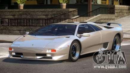 Lamborghini Diablo Super Veloce for GTA 4