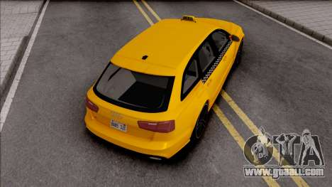 Audi RS6 C7 Taxi for GTA San Andreas