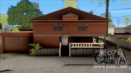New Groove Street SafeHouse for GTA San Andreas