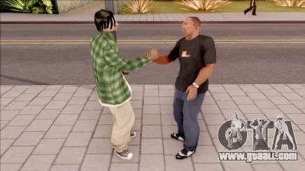 Handshake Mod for GTA San Andreas