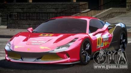 Ferrari F8 Tributo BS L4 for GTA 4