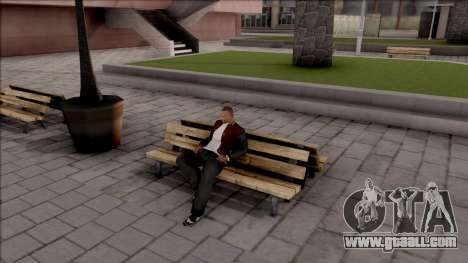 New Sit Animation for GTA San Andreas
