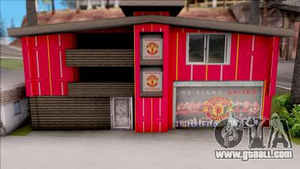 Manchester United House of Fans for GTA San Andreas