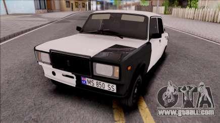 Vaz 2107 Georgi Style for GTA San Andreas