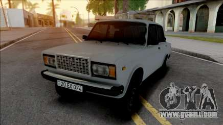 Vaz 2107 20-EX-074 for GTA San Andreas