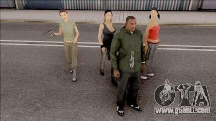 Girlfriend Gang for GTA San Andreas