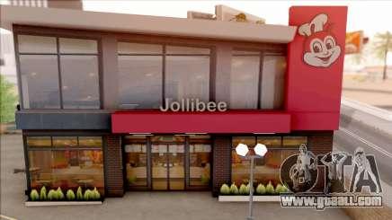 Jollibee Store Las Venturas for GTA San Andreas
