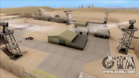 Military Base in Operation for GTA San Andreas