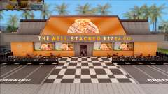 The Well Stacked Pizza Co. 2019 for GTA San Andreas