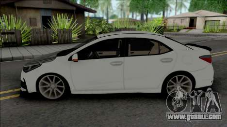 Toyota Corolla Carbon Style for GTA San Andreas