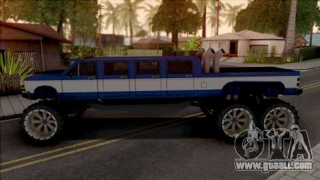 Bobcat Lifted Truck for GTA San Andreas